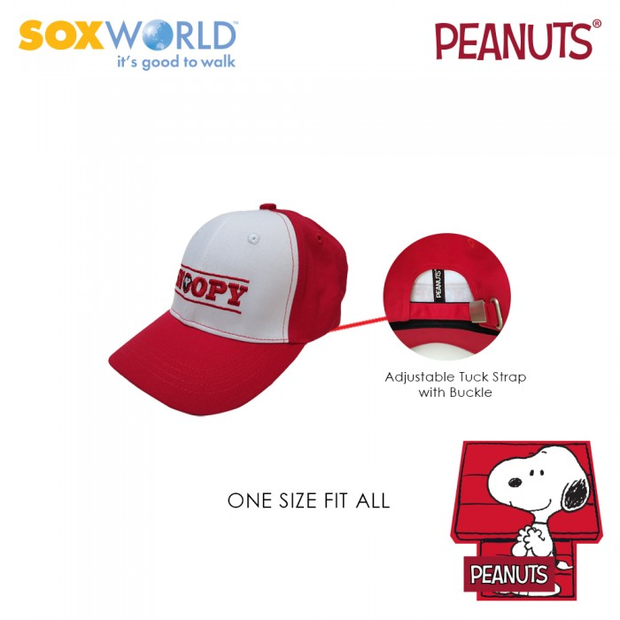 Authentic Original Peanuts Snoopy Caps Kids Unisex 64-4902