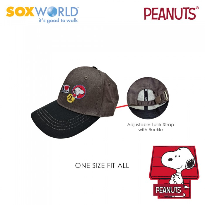 Authentic Original Peanuts Snoopy Caps Kids Unisex 64-4903