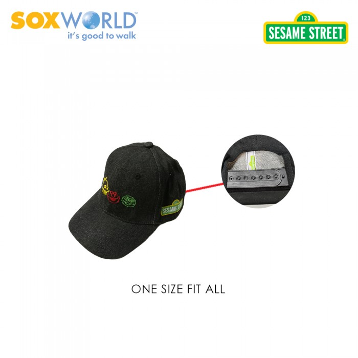 Authentic Original Sesame Street Caps Kids Cap Unisex 73-4001