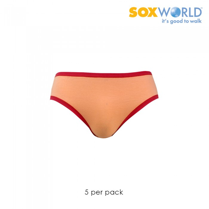 SoxWorld 5 in 1 Ladies Panties Innerwear Underwear Mini 65-904B