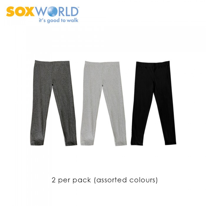 2 pieces SoxWorld Girls Home wear Legging Homewear 62-046