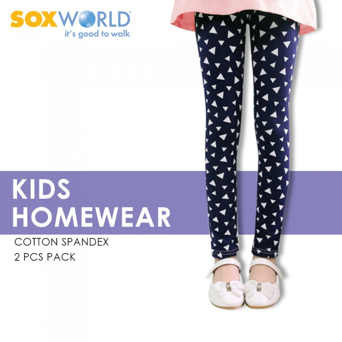 2 pieces SoxWorld Girls Home wear Legging Homewear 62-047