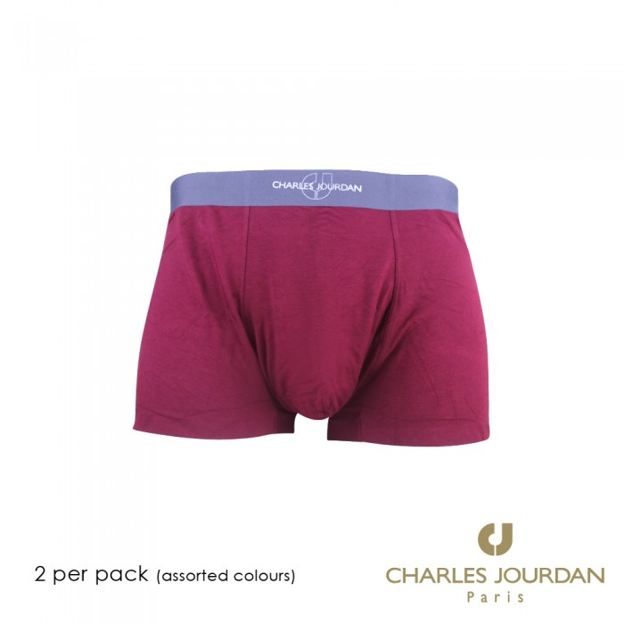 Modal Stretch 2 in 1 Charles Jourdan Innerwear Boxer Trunk Brief by Soxworld up to 2XL