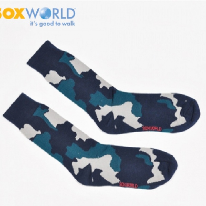 Soxworld Camouflage Camo Design Socks (1 Pair) socks hipster Men Socks Long Socks