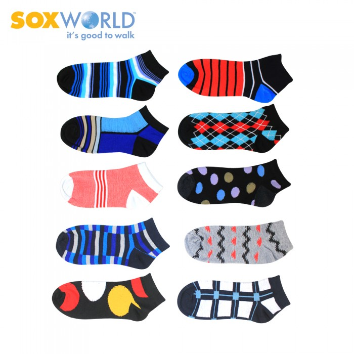 SOXWORLD Men Ankle Socks 10-1057