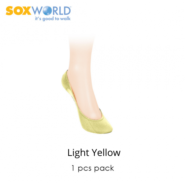 1 pc SoxWorld Basic Foot Cover Invisible Socks 12-5630