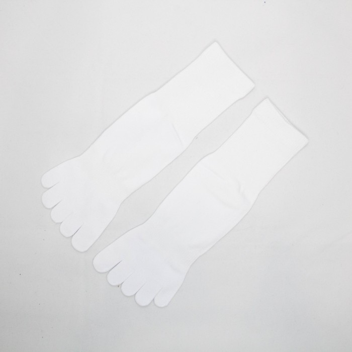 Sox World Basic Women Long Toe Socks (White)
