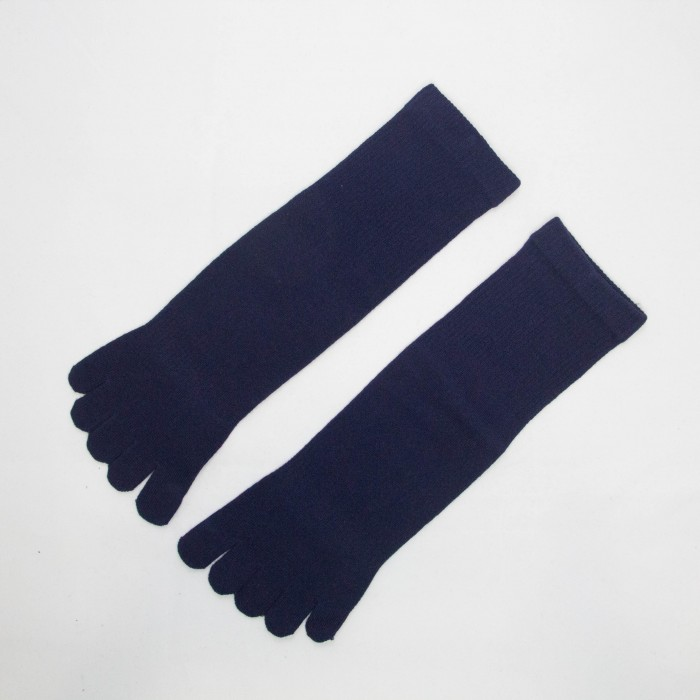 Sox World Basic Women Long Toe Socks (Navy Blue)