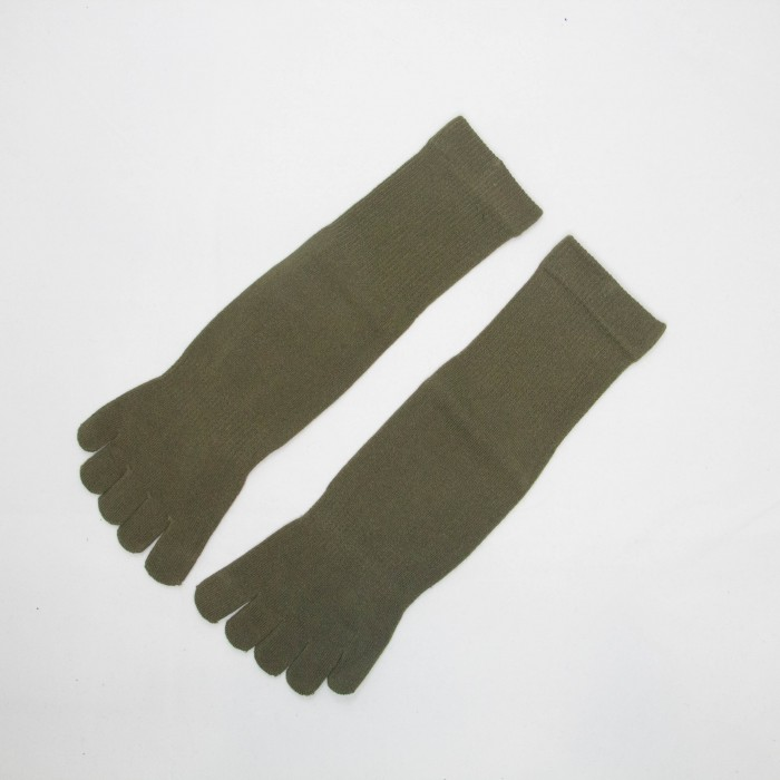 Sox World Basic Women Toes Socks (Army Green)