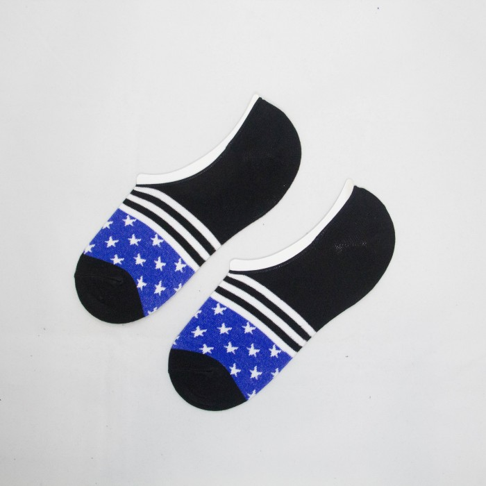 Polo Star Line Men Low Cut Socks (Black)