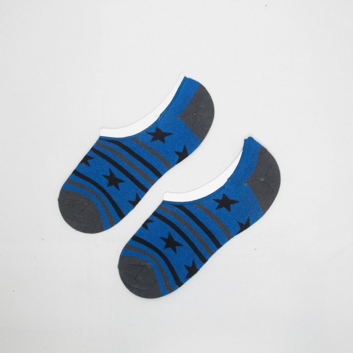 Polo Star Team Men Low Cut Socks (Light Blue)