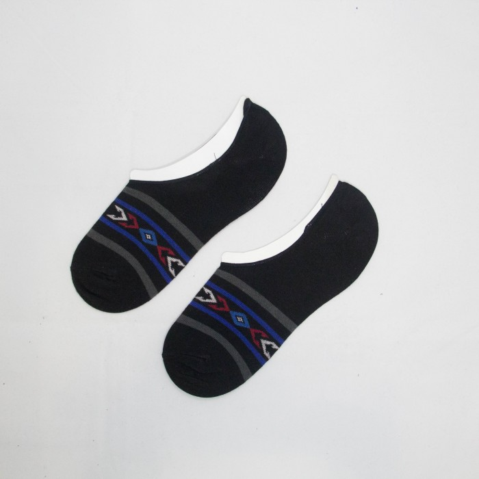 Polo Arrow Line Men Low Cut Socks (Black)