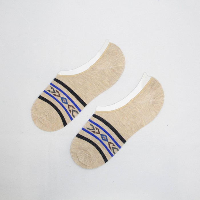 Polo Arrow Line Men Low Cut Socks (White)