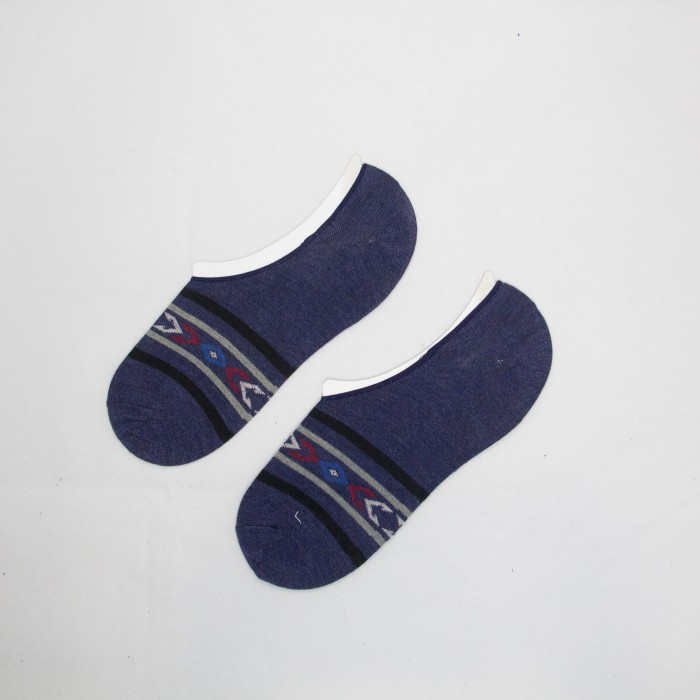 Polo Arrow Line Men Low Cut Socks (Blue)