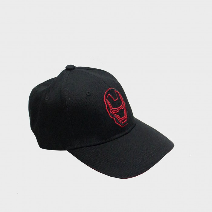 Marvel Iron Man Logo Men's Cap - Black