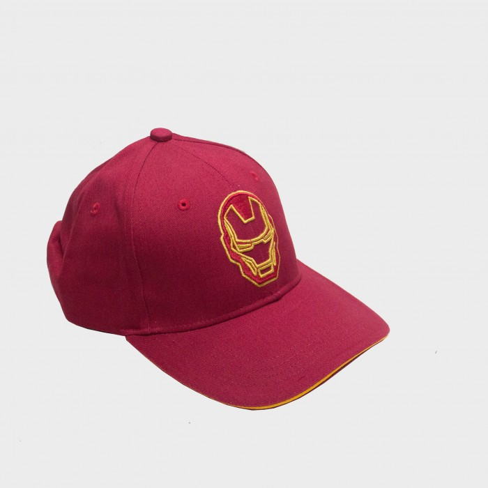 Marvel Iron Man Logo Men's Cap - Red
