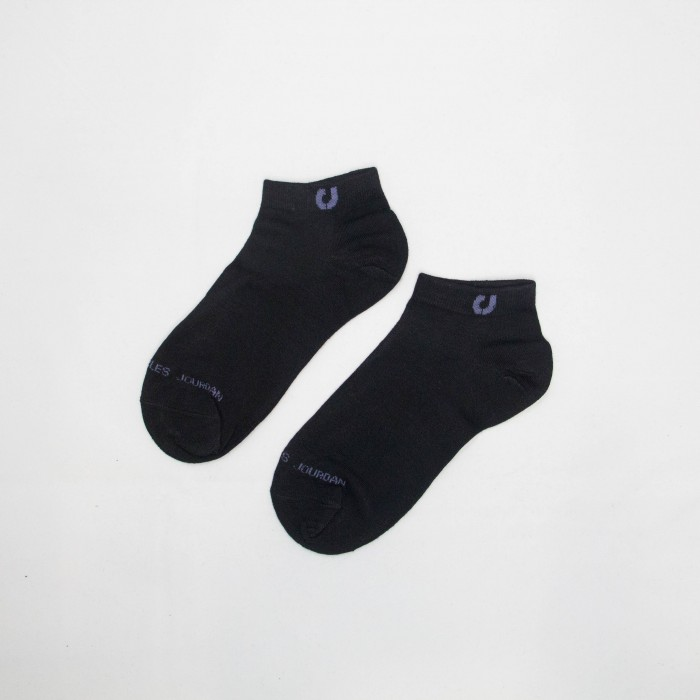 Charles Jordan Women Low Cut Socks - 3 pieces (Black)