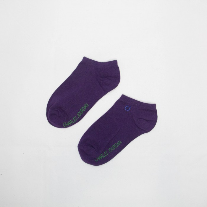 Charles Jordan Women Low Cut Socks - 3 Pairs Pack (Assorted Colour)