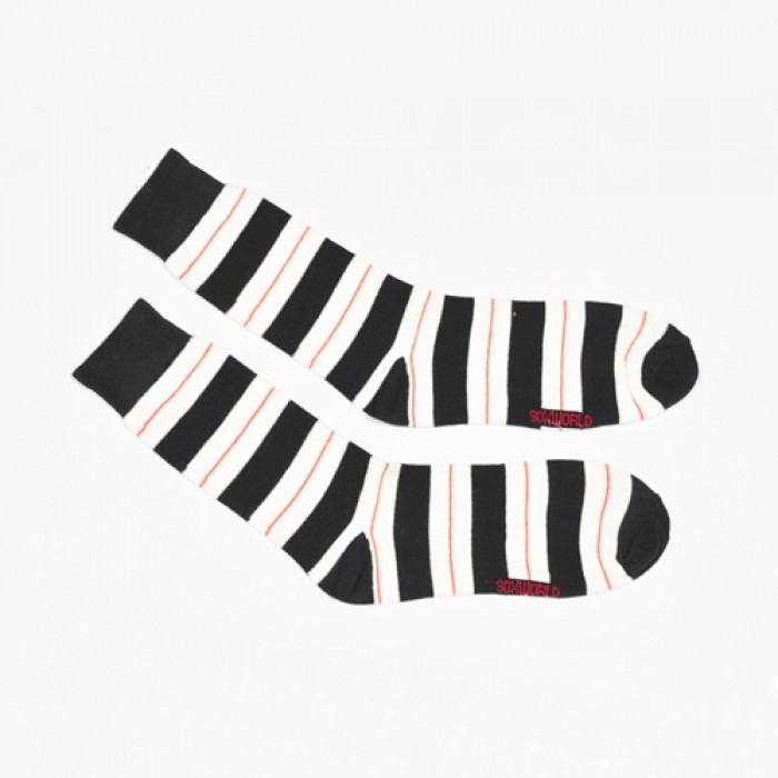 Sox World Zebra Colour Men Calf Socks