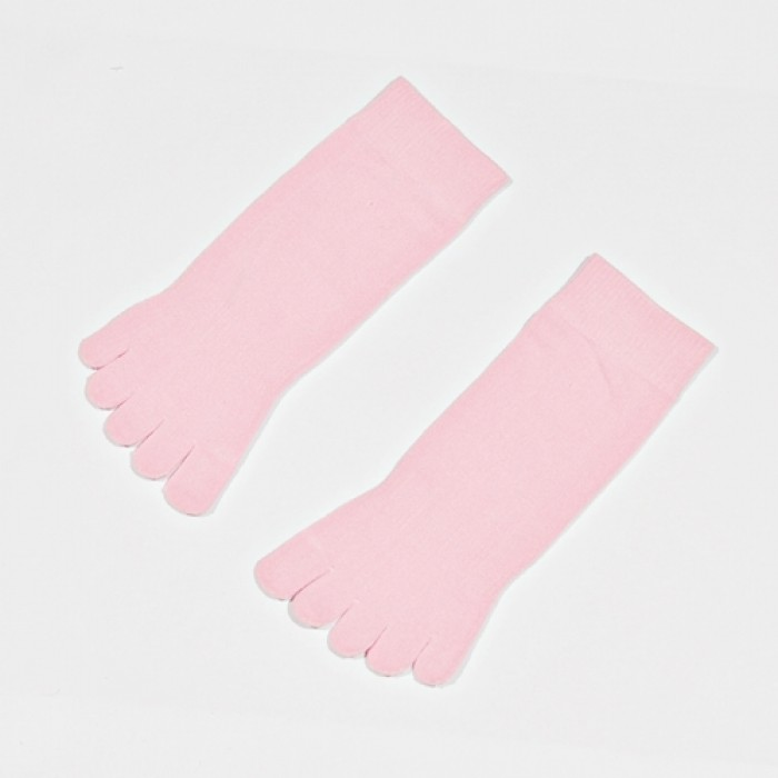 Soxworld Basic Women Toes Socks (Pink)