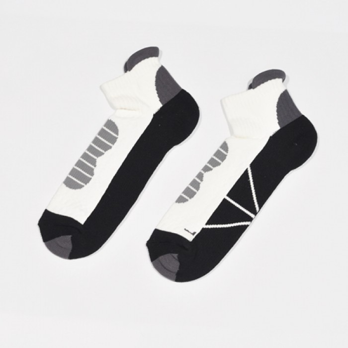 Sox World Adms Basketball Men Sport Socks (Black)
