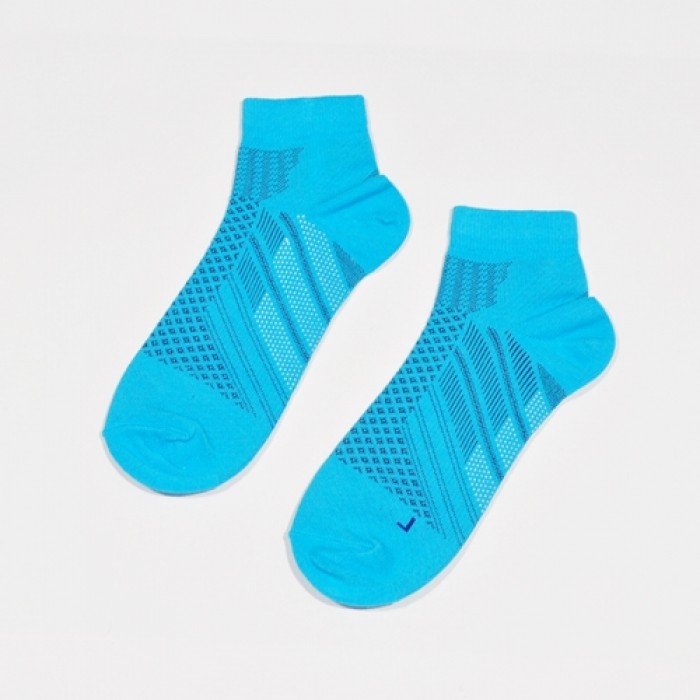 Sox World Adms Hiking Men Sport Socks (Tiffany Blue)