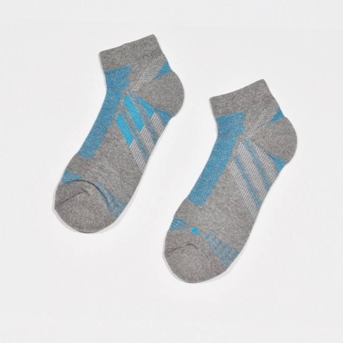 Sox World Adms Jogging Men Sport Socks (Grey)