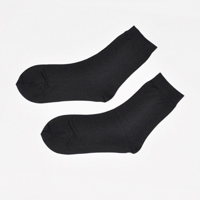 Sox World Basic Women Nylon Low Cut Socks (Black)