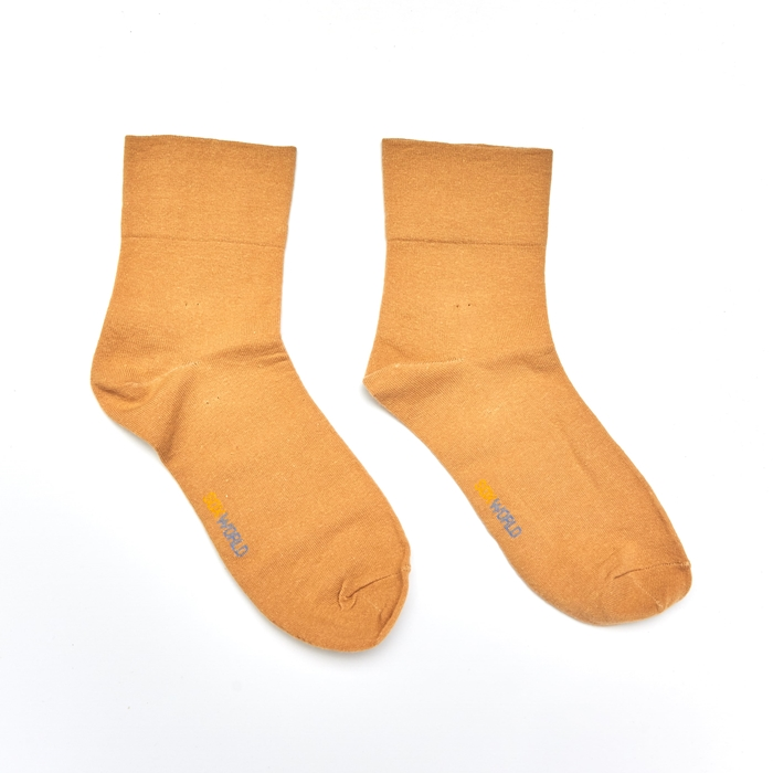 Soxworld Basic Women Calf Socks (Biege)