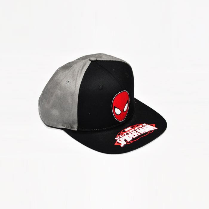 Marvel Ultimate Spiderman Kids Cap- Grey