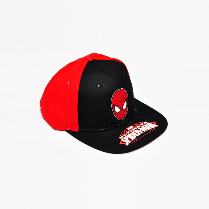 Marvel Ultimate Spiderman Kids Cap- Red