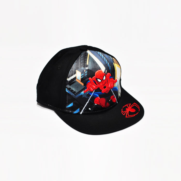 Marvel Spiderman Model Kids Cap - Black