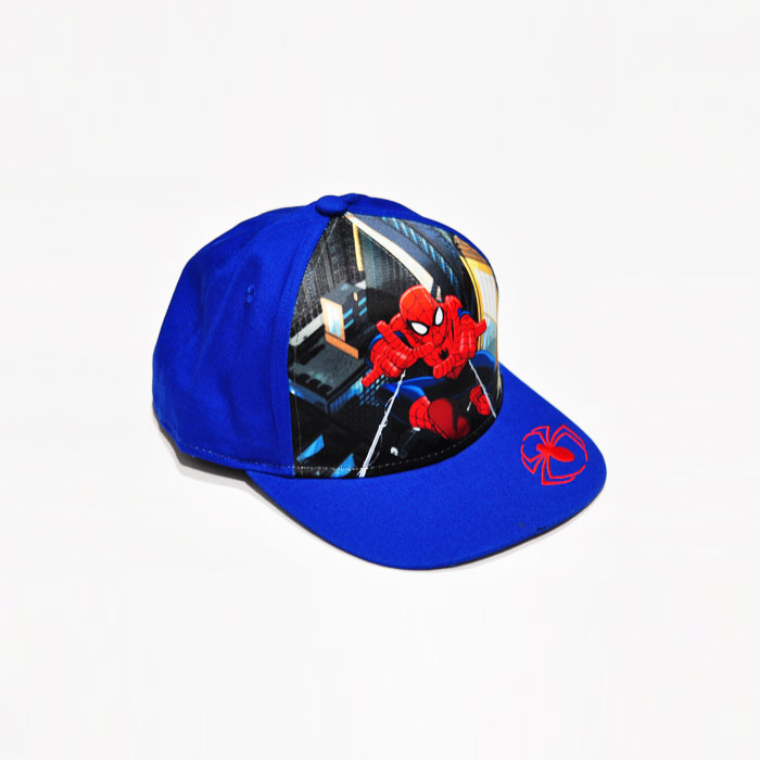 Marvel Spiderman Model Kids Cap- Blue