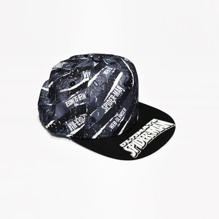 Marvel Spiderman Web Slinger Kids Cap - Black
