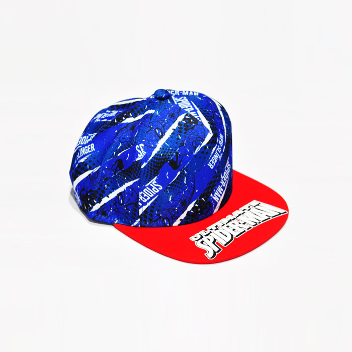 Marvel Spiderman Web Slinger Kids Cap - Blue