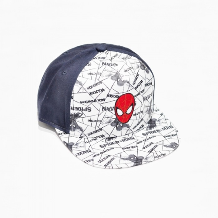 Marvel Spiderman Logo Kids Cap - Dark Blue