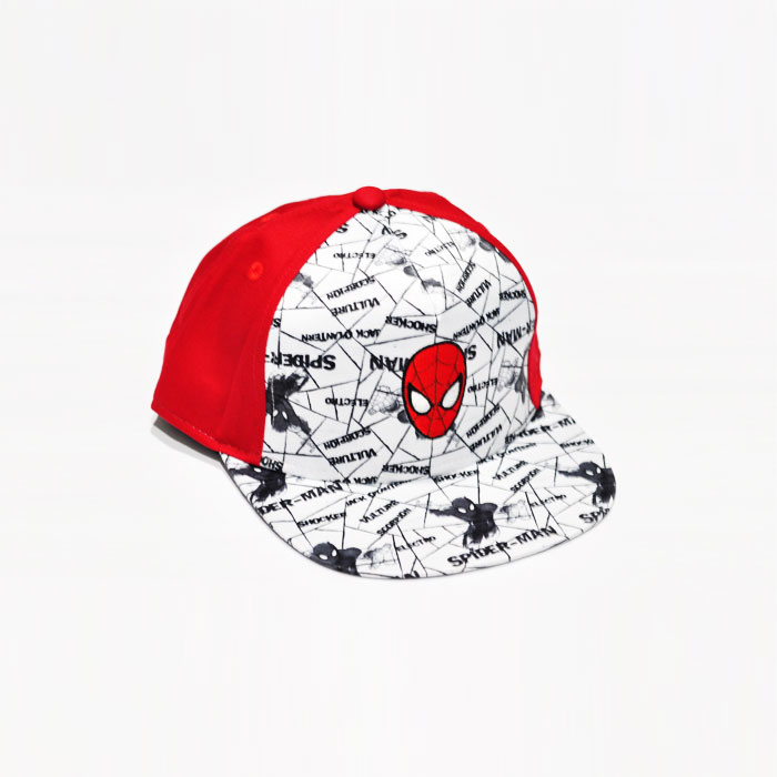 Marvel Spiderman Logo Kids Cap - Red