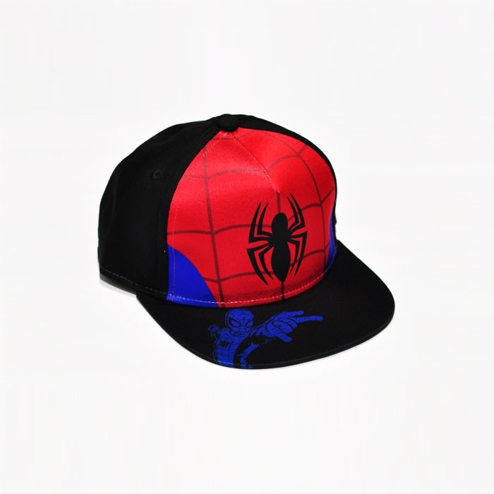 Marvel Spiderman Kids Cap - Black