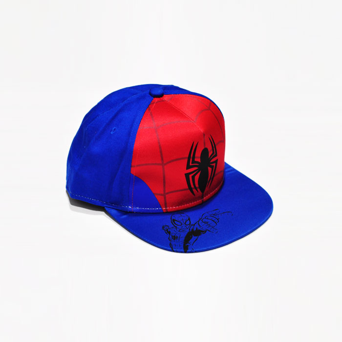 Marvel Spiderman Kids Cap - Blue