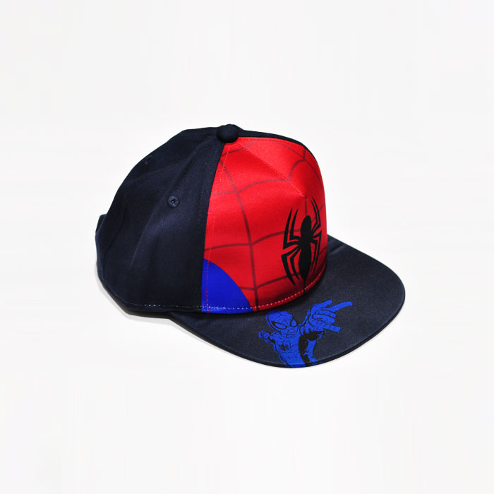 Marvel Spiderman Kids Cap - Dark Blue