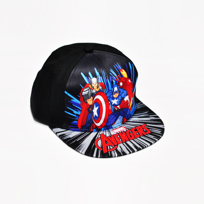 Marvel Avenger Trio Kids Cap - Black