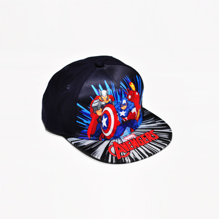 Marvel Avenger Trio Kids Cap - Dark Blue