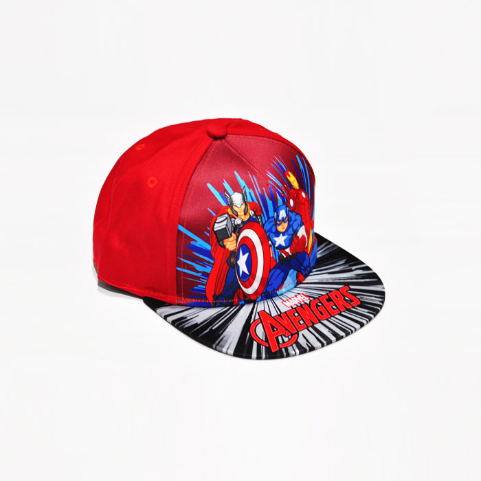 Marvel Avenger Trio Kids Cap - Red