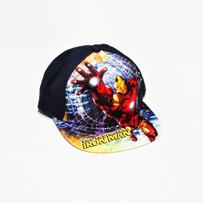 Marvel The Invincible Ironman Kids Cap - Dark Blue