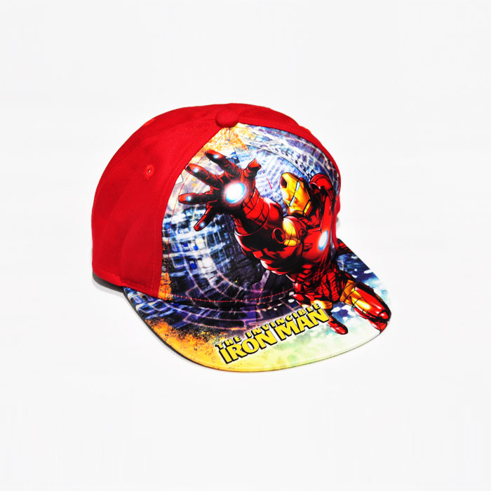 Marvel The Invincible Ironman Kids Cap - Red