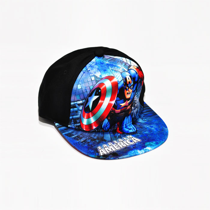 Marvel Captain America Kids Cap - Black