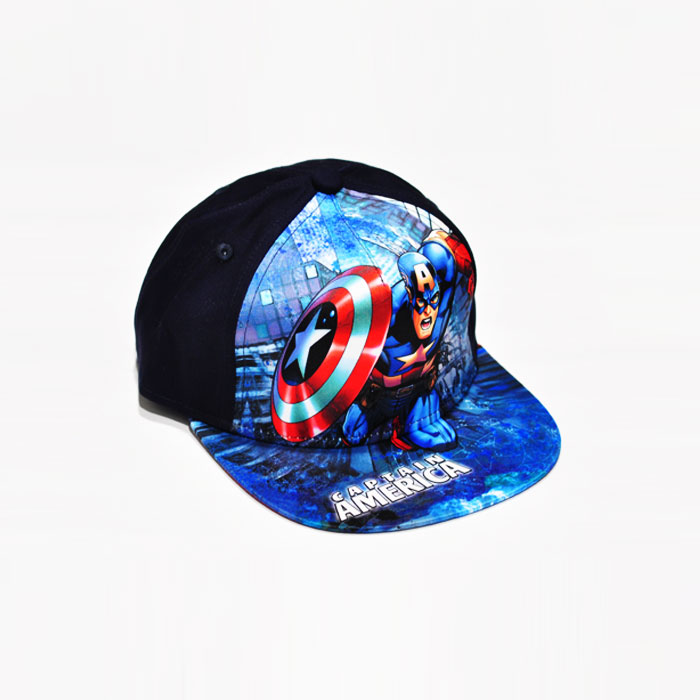 Marvel Captain America Kids Cap - Dark Blue