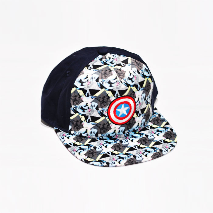 Marvel Captain America Shield Icon Kids Cap - Dark Green
