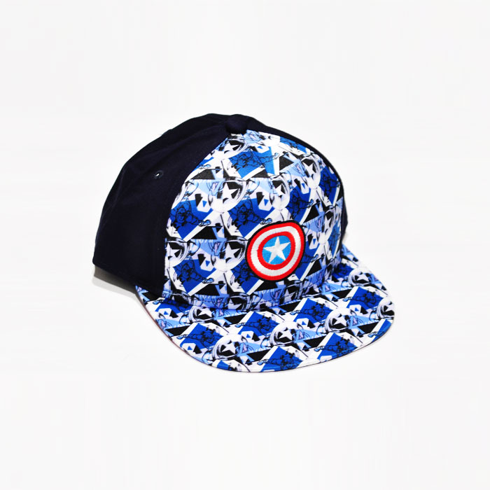 Marvel Captain America Shield Icon Kids Cap - Light Blue